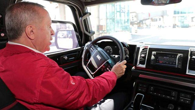 Başkan Erdoğan'ın test ettiği Türkiye'nin zırhlı pikap aracı Tulga, artık seri üretime hazır