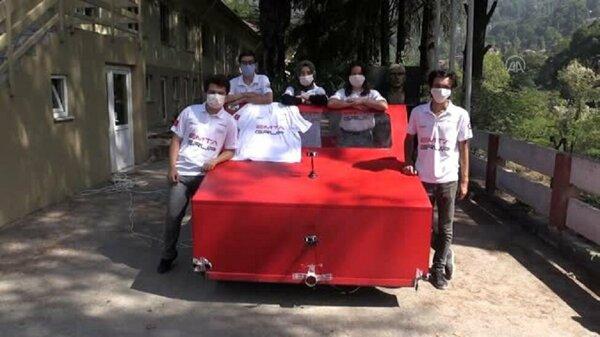 Üniversiteliler ürettikleri otonom araçla Robotaksi Yarışlarına damga vurdu