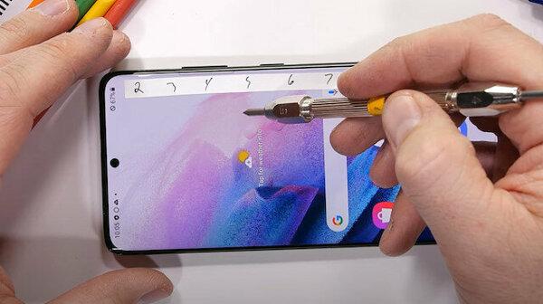 Samsung Galaxy S21 Ultra en zorlu testlerden de başarıyla geçti