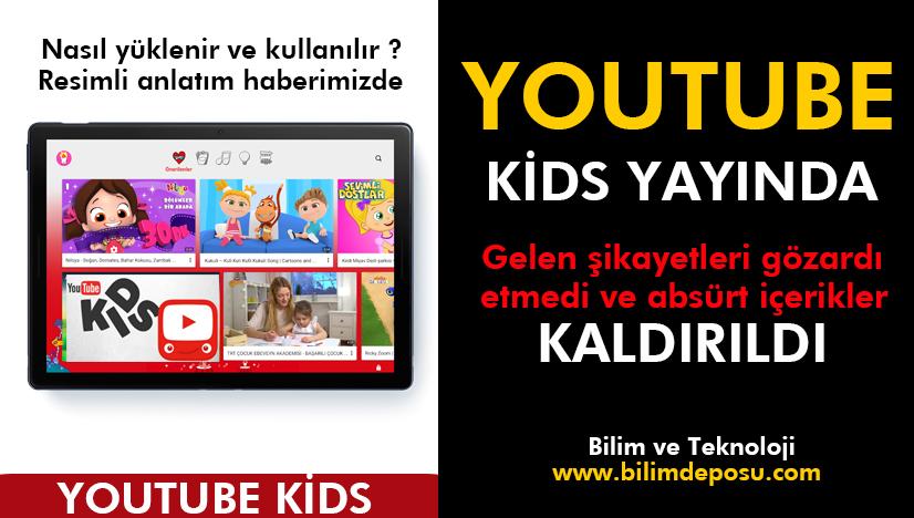 Youtube Kids nasıl kurulur ve kullanılır ( RESİMLİ ANLATIM ) 2021