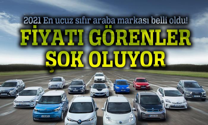 Türkiyede Satılan En Ucuz Sıfır Araba ve Fiyat Listesi